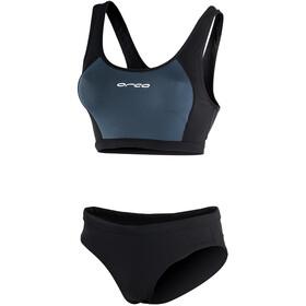 ORCA RS1 Bikini Women, czarny/niebieski